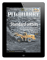 Download the Pit & Quarry app for iPad