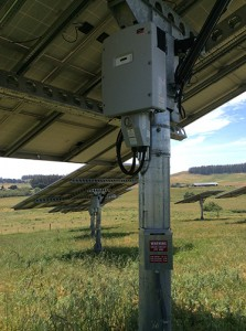 The Stone Point Rock Quarry's solar system is 202 kW and made up of 33 AllSun dual-axis trackers that follow the sun throughout daylight hours.