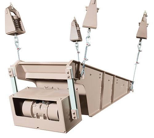 Deister Two-Mass Electromechanical Vibrating Feeder