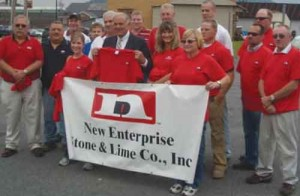 New Enterprise is regularly active trying to rally support for highway funding.