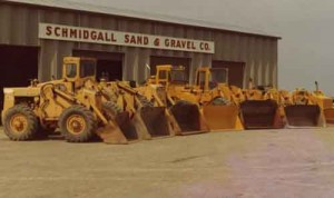 Schmidgall's father started Schmidgall Sand & Gravel in 1940.