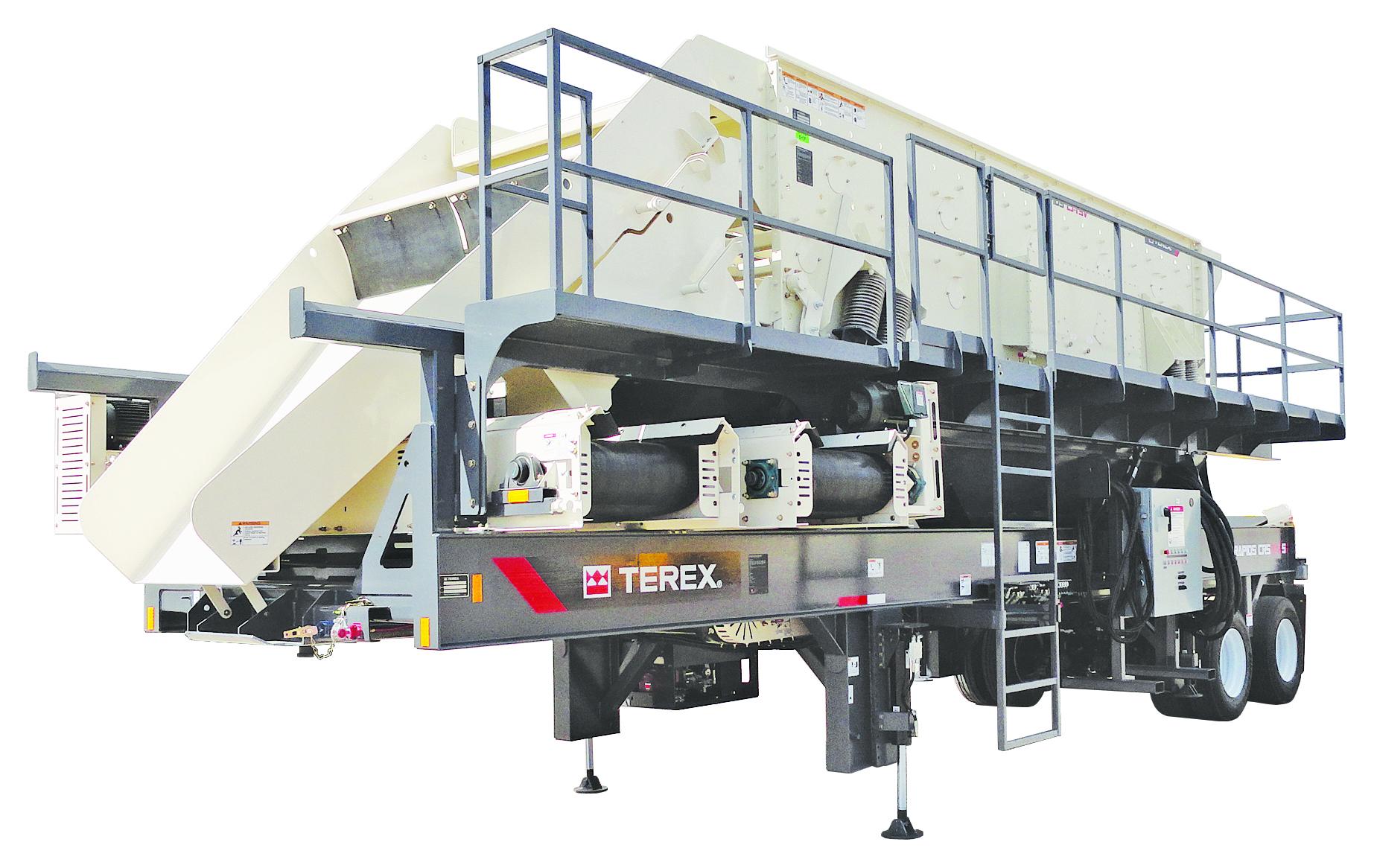 Terex MPS Cedarapids CRS620S Portable Screen Plant