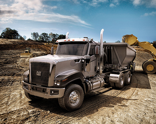Cat rolls out CT680 vocational truck