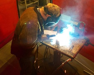 Superior Industries held a high school welding competition at its headquarters in Morris, Minn. Photo: Superior Industries