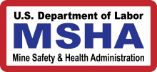 Logo: Mine Safety & Health Administration