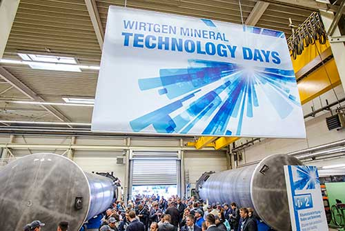 Photos:  Wirtgen Group