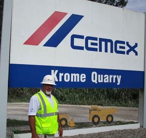 Ray Valdes, Krome Quarry plant manager.