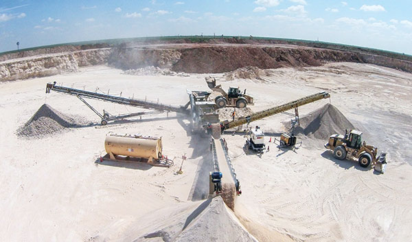 CSA Materials aims to use versatile equipment that handles diverse material found at its 10 sites across West Texas.