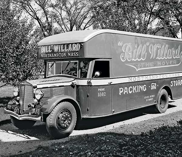 William H. Willard, founder of Bill Willard Inc., started his sand-and-gravel operation with money he made from his moving business called Bill Willard the Mover. The moving business continued to operate until the 1950s. Photos courtesy of Bill Willard Inc.