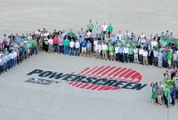 Powerscreen hosted a world dealer conference in Florida in 2014. Photo courtesy of Powerscreen