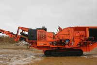 Eagle Crusher unveiles UltraTraxx impact crusher  Photo courtesy of Eagle Crusher Co. Inc.