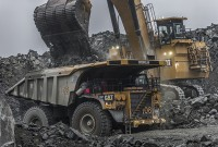 A Cat 793F mining truck at work. Photo courtesy of Caterpillar.