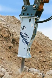 The Fx225 is the latest in FRD USA's line hydraulic breakers. Photo courtesy of FRD USA