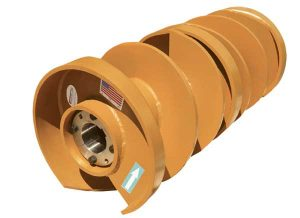 Douglas Manufacturing's Vortex Spiral Clean Pulley is designed for harsh operating conditions. Photo courtesy of Douglas.