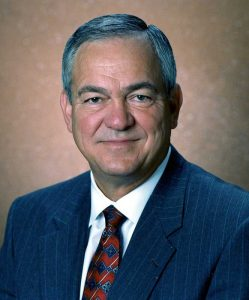 Glen Barton, former chairman and CEO of Cat, passed away at age 77. Photo courtesy of Caterpillar