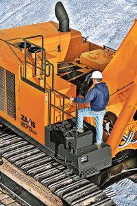 Photo courtesy of Hitachi Construction Machinery