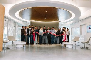 Cemex USA opened a new headquarters, commemorating the facility with a ribbon-cutting ceremony. Photo courtesy of Cemex USA.