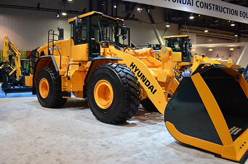 Hyundai debuts loader for quarries at ConExpo-Con/Agg