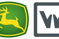 Logos: John Deere / Wirtgen