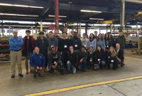 Haver & Boecker invited 22 University of Toronto students to tour its facilities. Photo courtesy of Haver & Boecker