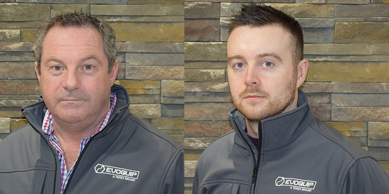 EvoQuip appoints two sales managers
