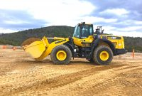 Photo courtesy of Komatsu America.