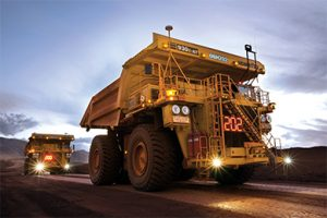 Komatsu began autonomous hauling solutions trials at Codelco's copper mine in Chile in 2005. Komatsu deployed its first commercial autonomous haulage system at Codelco three years later. Photo courtesy of Komatsu.