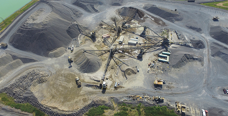 Rail System Moves Trap Rock Amp Granite To Grow Pit Amp Quarry