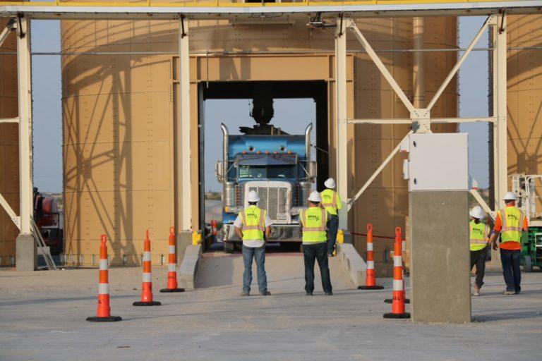Atlas Sand opens Texas frac sand facility