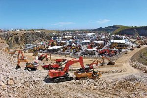 This year's Hillhead featured more than 500 exhibitors. Photo courtesy of The QMJ Group