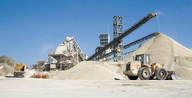 A number of aggregate producers are looking to upgrade their plants these days with brand-new equipment. Photo: iStock.com/isabela66
