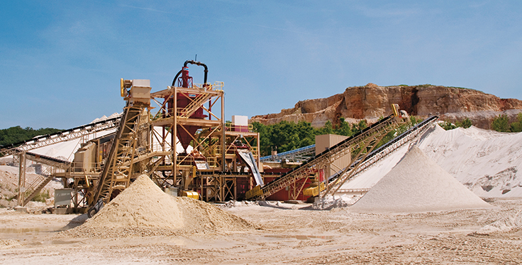 High demand for frac sand - Pit & Quarry