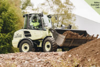 Volvo CE's LX2 electric compact wheel loader prototype offers improved efficiency and reduced operational costs, according to the company. Photo courtesy of Volvo CE.