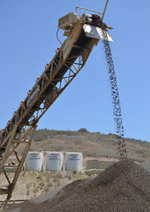 Lehigh Hanson, whose Santee Rock Plant is pictured here, ranks fourth on the latest USGS list ranking the nation's top construction sand and gravel producers. Photo by Zach Mentz.
