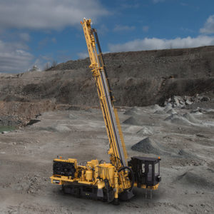 Caterpillar's MD6200 drill. Photo courtesy of Caterpillar.