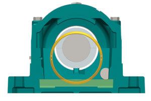 Hydrodynamic bearings. Photo courtesy of ABB Motors & Mechanical Inc.