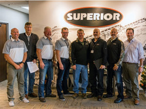 Superior Industries expanded its partnership with equipment dealer Power Equipment Co. Photo courtesy of Superior Industries.