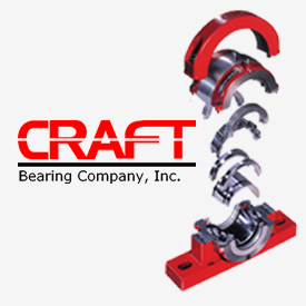 Craft Bearing Co. split bearings