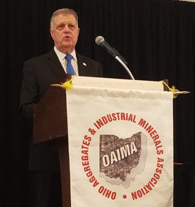 MSHA's Ed Elliott visited the OAIMA Annual Meeting & Trade Show in Columbus, Ohio.