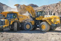 Through technology, a number of dealers are capable of estimating when a component on key equipment is likely reaching the end of its life. This capability expedites the parts replacement process and minimizes the impact on production. Photo courtesy of Komatsu