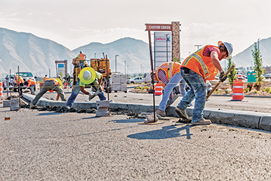 The backlog of infrastructure needs is enormous, even though the totals thrown about are unrealistic, says SC-MA's David Chereb. Demand for aggregate in the nonbuilding category remains the greatest. Demand will only grow more in the coming years. Photo: iStock.com/TerryJ