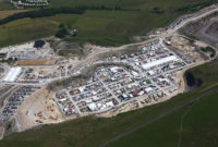 An aerial view of Hillhead 2018. Photo courtesy of the Hillhead press office