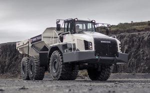 Hills Machinery will offer Terex Trucks' TA300 and TA400 models. Photo courtesy of Terex Trucks
