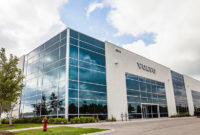 Volvo CE's 181,000-sq.-ft. parts distribution center replaced a regional parts depot in Toronto. Photo courtesy of Volvo CE