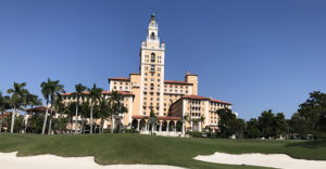 The Biltmore outside of Miami was the location of the 2019 Pit & Quarry Roundtable & Conference. Photo by Joe McCarthy