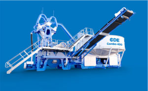 The Combo all-in-one wet processing plant from CDE will be on display at Buama 2019 in Germany. Photo courtesy of CDE.