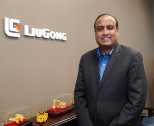 Mani Iyer earned his MBA from the University of Houston, and he has a post-graduate diploma in foreign trade from World Trade Centre Mumbai. Photo courtesy of LiuGong North America