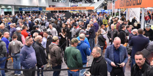 World of Concrete 2019 attracted tens of thousands of industry pros to Las Vegas. Photo courtesy of Informa