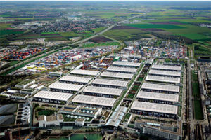 Bauma, which takes place every three years, returns April 8-14 in Munich, Germany. Photo courtesy of Messe München GmbH