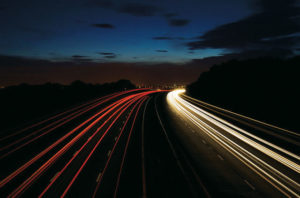 Electric roads could charge your vehicles as they are driven. Photo courtesy of Volvo CE